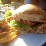 Hambúrguer de camarão: divino!