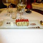 Un dessert particulièrement séduisant... et bon.