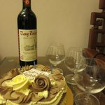 Free Wine & Cake for our Friend