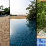 Bedouin Villa 31 - Pool und Gazelle