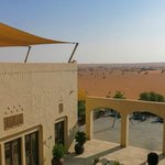 Aussicht auf die Restaurant-Terrasse