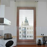 little kitchen but fully equimpent and view !