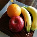 Frutinhas de boas vindas!