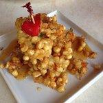 Indochine corn fritter