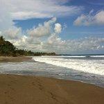 Beach close by Villa Helen