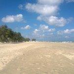 la spiaggia a settembre