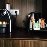angolo thè e caffè in camera