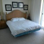 Actual Master Bedroom Furniture & linens after cleaning