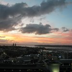 Auckland Harbour at Sunset