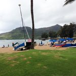 Lots of activities at Kalapaki Beach