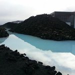 View entering Blue Lagoon