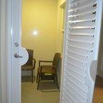vue de la chambre --> balconnet