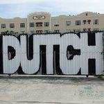Bereits übermaltes Graffiti...Schade.