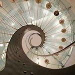 Escalier de la réception