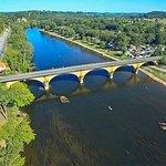 la Dordogne prés de la maison