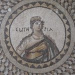 one of the mosaics still on display