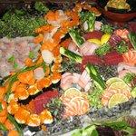 Sushi & Sashimi Catering Service.
