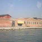 Views coming into Murano on our water bus!