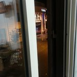 Stupenda vista del teatro Brancaccio dalla finestra