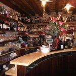 Bar area in front of ristorante.