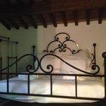 Una delle due camere al piano superiore della stanza Medoro