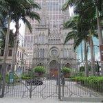 Catedral em frente ao hotel