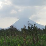 Arenal Volcano from grounds