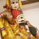 Puppets - Katputhli Couple Maharaja and Maharani