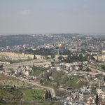 View of Jerusalem from Mt.Scopus