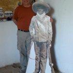 Posing with Pancho Villa
