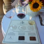 Chocolate & wine experience!