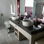 Bathroom in garden bungalow