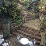 Our hidden Garden, open in warm weather.
