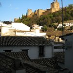 Our Alhambra view (leaning out)