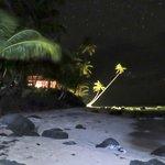 Yemaya at night under the stars.