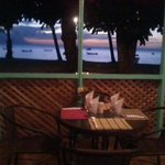 sunset @d'almond tree restaurant