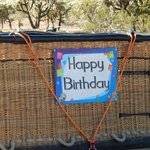 Nice touches for birthdays