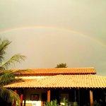 Arco-íris na Pousada Surucuá - Bonito/MS