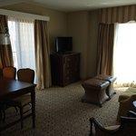 17th floor corner balcony 1 bedroom suite. April 2014