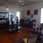 Interesting room of historical furniture
