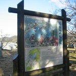 高松城水攻めの図