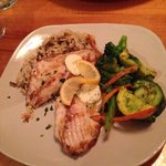 Grilled trigger fish