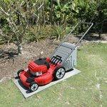 Lego lawn mower