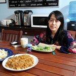 breakfast with Marie Nomura