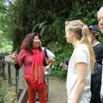 Josephine, our amazing tour guide