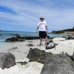 On the beach at Boca Catalina