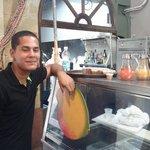 Warm service, great salsas!