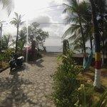 Em frente a Praia