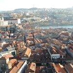 Vista da cidade do Porto e Vila Nova de Gaia