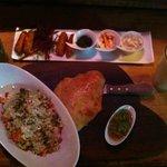 Arabic Salad & Shrimp sticks